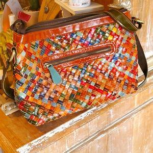 Ameri leather shoulder bag